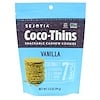 Sejoyia, Coco-Thins, Snackable Cashew Cookies, Vanilla, 3.5 oz (99 g)