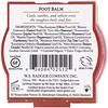 Badger Company, Foot Balm, Peppermint & Tea Tree, .75 oz (21 g)