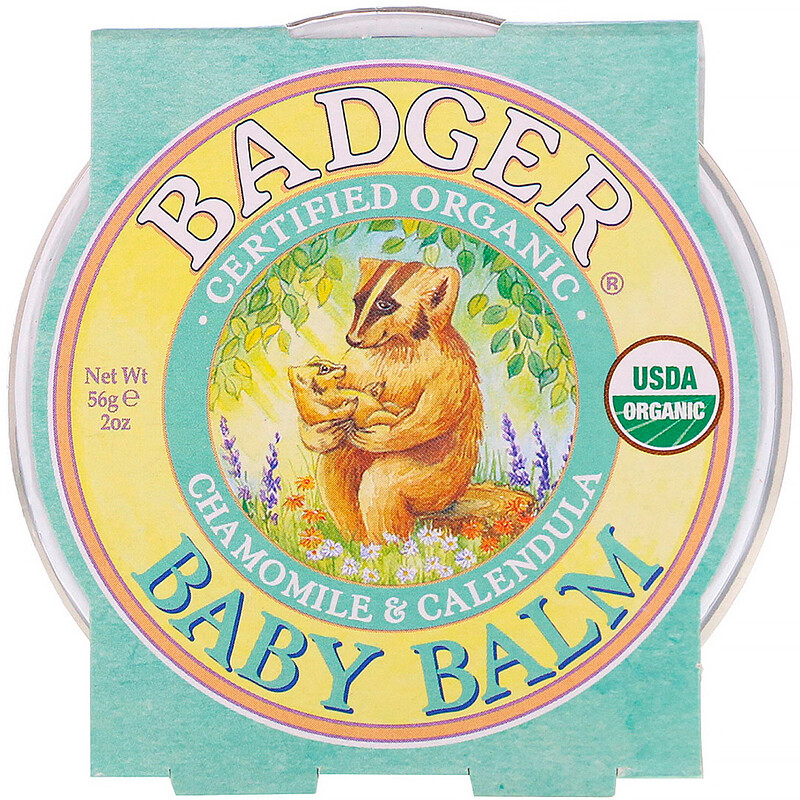 Organic, Baby Balm, Chamomile & Calendula, 2 oz (56 g)