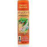 Отзывы о Badger Company, Бальзам для губ с маслом какао, сладкий апельсин,7 г