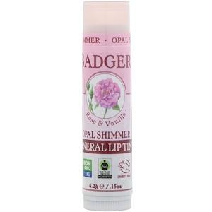 Бадгер компания, Mineral Lip Tint, Opal Shimmer, .15 oz (4.2 g) отзывы