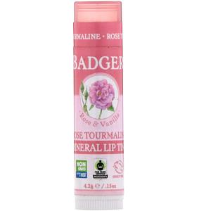 Бадгер компания, Mineral Lip Tint, Rose Tourmaline, .15 oz (4.2 g) отзывы покупателей