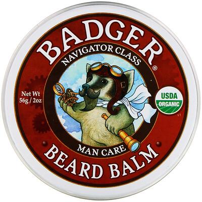 Купить Badger Company Навигатор Класс Для мужчин, Бальзам для бороды, 2 унции (56 г)