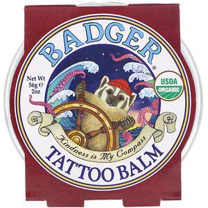 Бадгер компания, Organic Tattoo Balm, 2 oz (56 g) отзывы