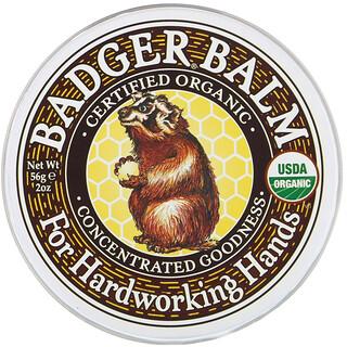 Badger Company, барсучий бальзам для рук, 56г (2унции)