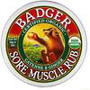Badger Company, мазь от боли в мышцах, органический состав, с кайенским перцем и имбирем, 56г (2унции)