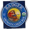 Badger Company, Aromatic Chest Rub, Eucalyptus & Mint, 2 oz (56 g)