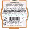 Badger Company, Organic, Sore Joint Rub, Arnica Blend, .75 oz (21 g)
