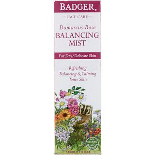 Badger Company, Damascus Rose, Balancing Mist, 4 fl oz (118 ml)