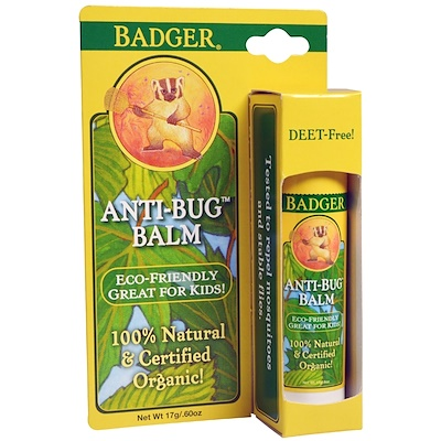 Badger Company 防蚊蟲膏,0.60 盎司(17 克)