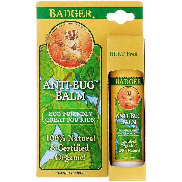 Badger Company, Anti-Bug Balm, 0.60 oz (17 g)