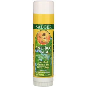 Бадгер компания, Anti-Bug Balm, .60 oz (17 g) отзывы