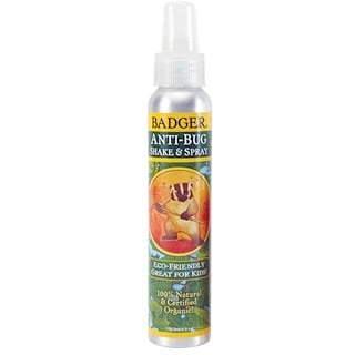 Badger Company, Anti-bichos Orgánico, Shake & Spray, 4 fl oz (118.3 ml)