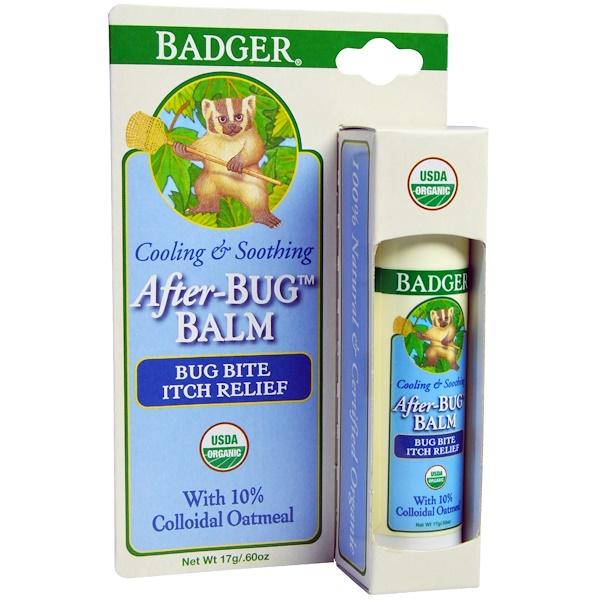 Badger Company, アフター バグ バーム、0.60 oz (17 g)