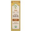 Badger Company, Herbal Hair Oil, Jojoba Rosemary & Tea Tree, 2 fl oz (59.1 ml)