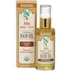 Badger Company, ホホバ・ハーバル・ヘアー・オイル、ローズマリー &ティーツリー、2 fl oz (59.1 ml)
