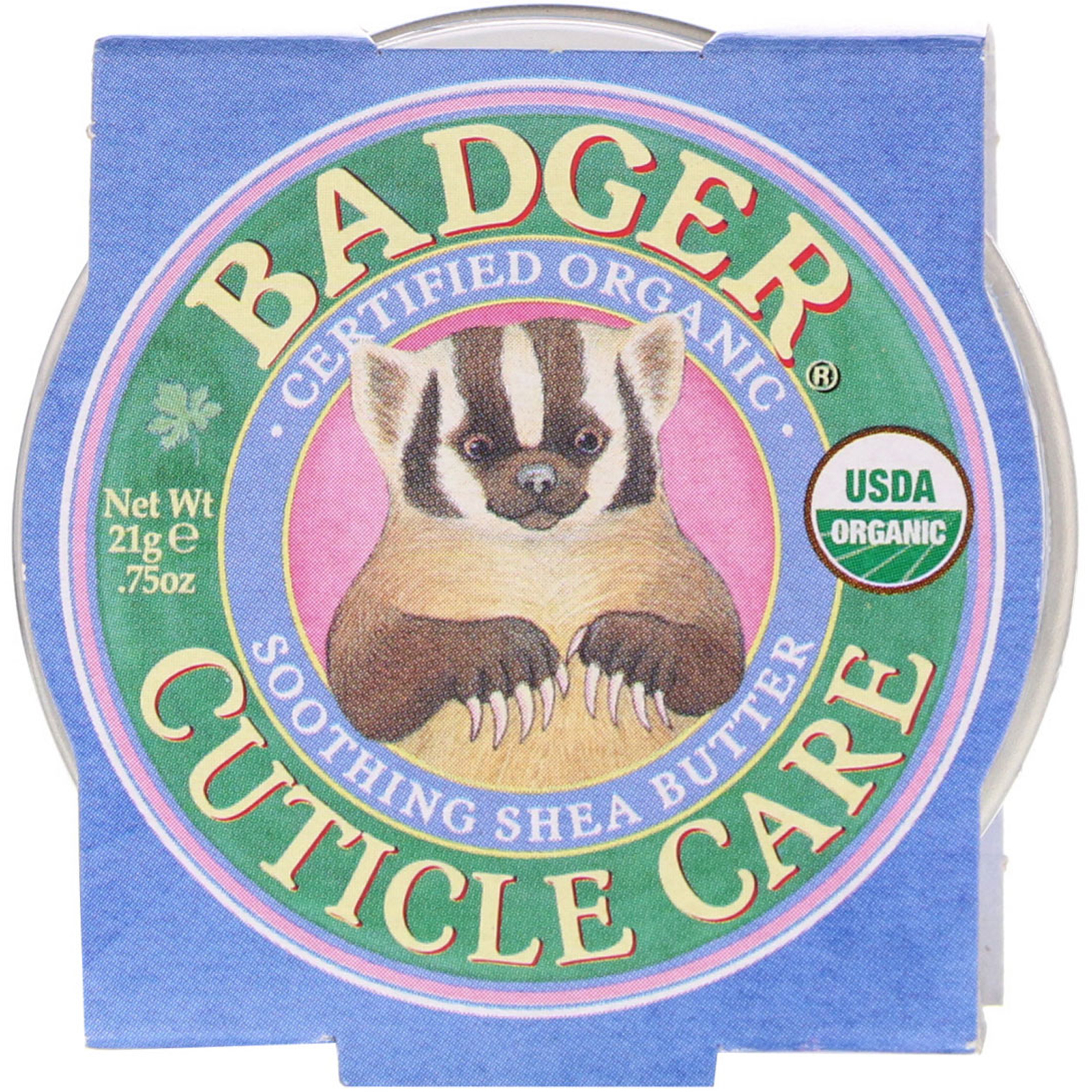 Badger Company, Organic Cuticle Care, Soothing Shea Butter