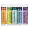 Badger Company, Organic Aromatherapy Travel Kit, 5 Pack, 0.15 oz (4.3 g) Each