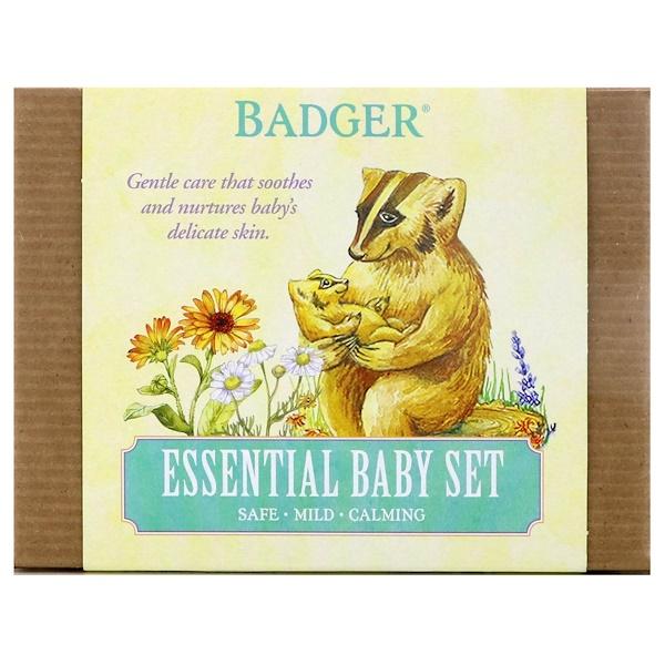 Badger Company, 必備嬰兒套裝,3件套