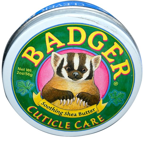 Badger Company, Cuticle Care, Soothing Shea Butter, 2 oz (56 g) (Discontinued Item)