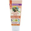 Badger Company, Clear Sport, Kids, Natural Mineral Sunscreen Cream, SPF 40, Tangerine & Vanilla, 2.9 fl oz (87 ml)