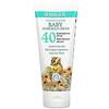 Badger Company, Baby Sunscreen Cream, SPF 40, Chamomile & Calendula,  2.9 fl oz (87 ml)