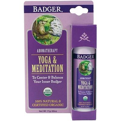 Badger Company Yoga & Meditation, Cedarwood & Mandarin, .60 oz (17 g)
