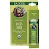Badger Company, フォーカスバーム、グレープフルーツ&ジンジャー、.60 oz (17 g)