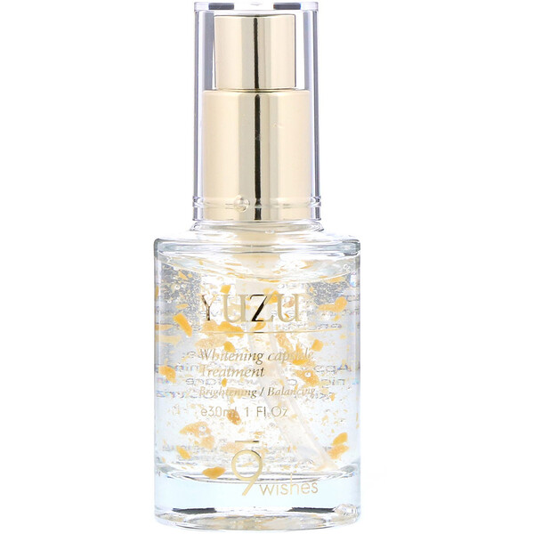 9Wishes, Yuzu, Whitening Capsule Treatment, 1 fl oz (30 ml) (Discontinued Item)