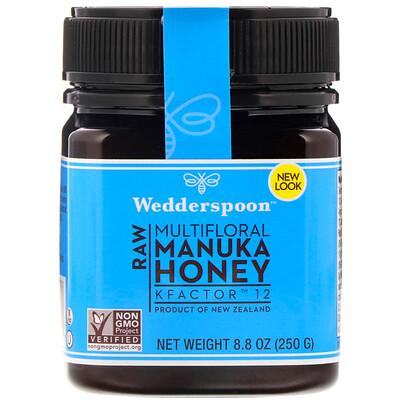Raw Multifloral Manuka Honey, KFactor 12, 8.8 oz (250 g)