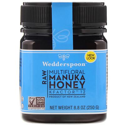 Купить Raw Multifloral Manuka Honey, KFactor 12, 8.8 oz (250 g)