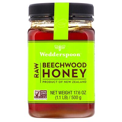 Raw Beechwood Honey, 17.6 oz (500 g)