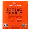 Wedderspoon, Raw Monofloral Manuka Honey, KFactor 16, 24 Packs, 0.2 oz (5 g) Each