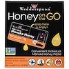 Wedderspoon, Honey On The Go, KFactor 16, 24 Packs, 5 g Each