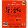 Wedderspoon, Raw Monofloral Manuka Honey, On the Go, KFactor 16, 24 Packs, 0.2 oz (5 g) Each