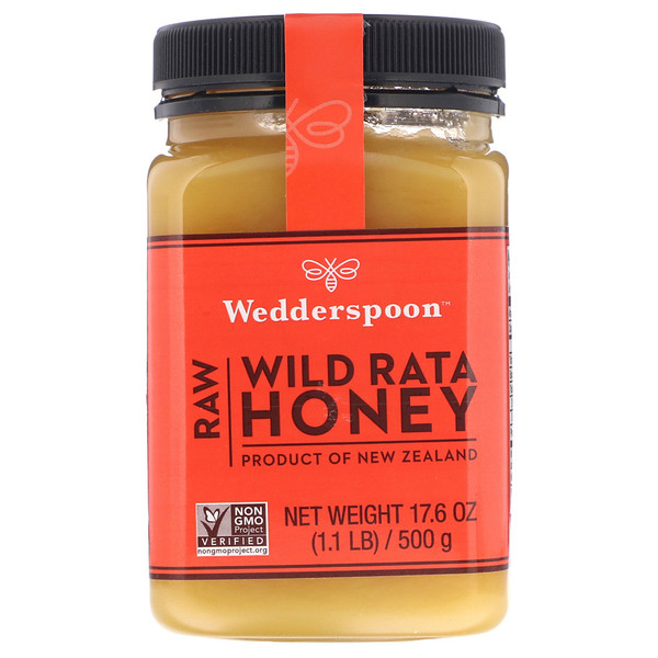 Wedderspoon, Raw Wild Rata Honey, 17.6 oz (500 g) (Discontinued Item)