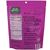 Wedderspoon, Organic Manuka Honey Pops For Kids, Grape, 24 Count, 4.15 oz