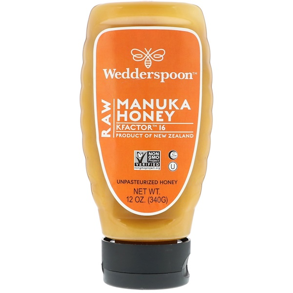 Wedderspoon, Raw Manuka Honey, KFactor 16, 12 oz (340 g)