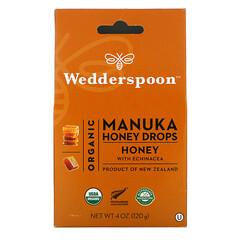 Wedderspoon, 有機麥盧卡蜂蜜滴劑,含紫錐菊的蜂蜜,4 盎司(120 克)