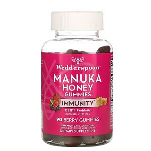 Веддерспун, Manuka Honey, Immunity Gummies, Berry, 90 Gummies отзывы