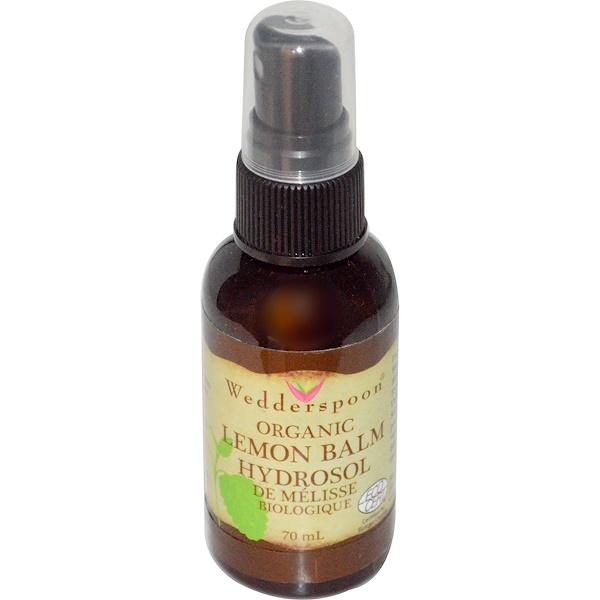 Wedderspoon, Organic Lemon Balm Hydrosol, 70 ml (Discontinued Item)