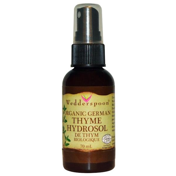 Wedderspoon, Organic German Thyme Hydrosol, 70 ml (Discontinued Item)