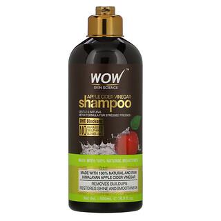 Wow Skin Science, Shampoo, Apple Cider Vinegar, 16.9 fl oz (500 ml)