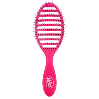 Wet Brush, فرشاة التجفيف السريع، وردي، فرشاة واحدة
