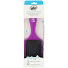 Wet Brush, Paddle Detangler Brush, Purple,  1 Brush