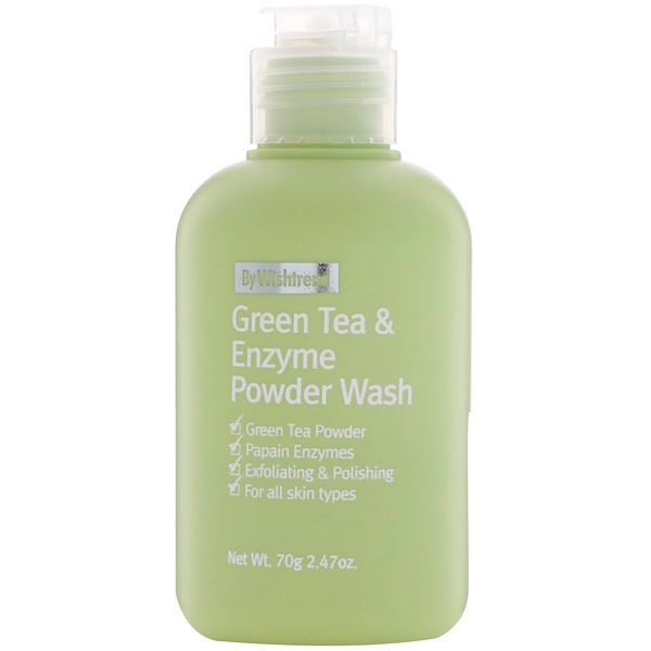Wishtrend, Green Tea & Enzyme Powder Wash, 2.47 oz (70 g)