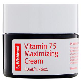 Wishtrend, Crema optimizante con vitamina 75, 1.76 oz
