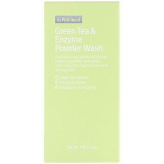 Wishtrend, Порошок с зеленым чаем и энзимами, 2,47 унц. (70 г)