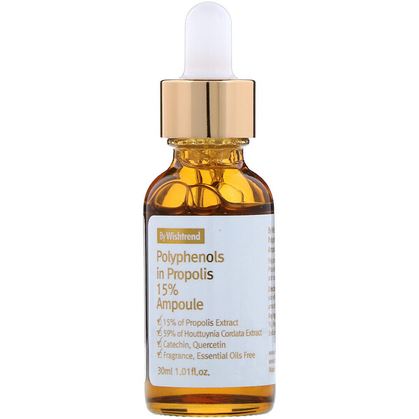 Polyphenols in Propolis 15% Ampoule, 1.01 fl oz (30 ml)