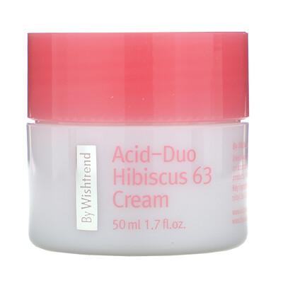 Купить Wishtrend Acid-Duo Hibiscus 63 Cream, 1.7 fl oz (50 ml)